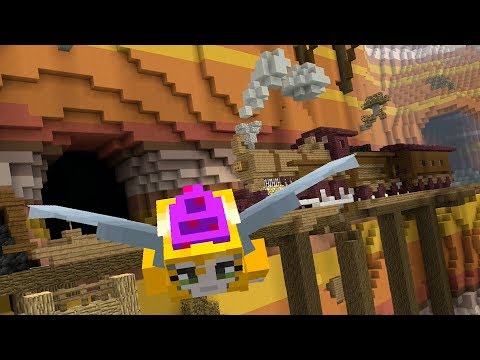 Minecraft - Can you beat my time? - Glide Mini-game - Canyon