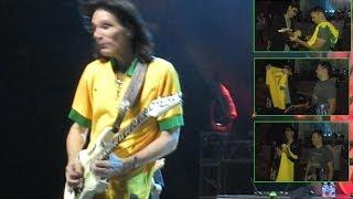 Steve Vai - Taurus Bulba - Credicard Hall - São Paulo - 08/12/2013