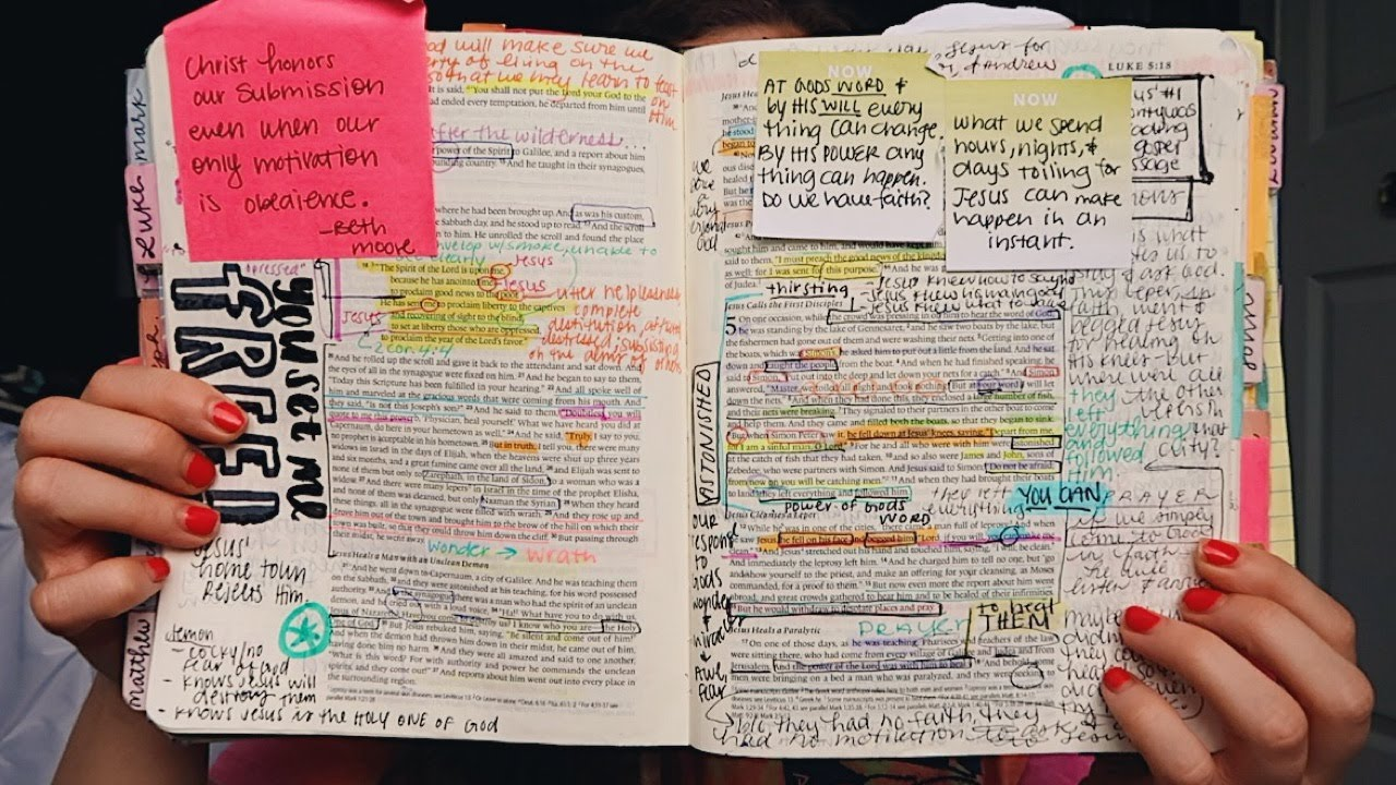 How I Study My Bible + In-Depth Bible Study!