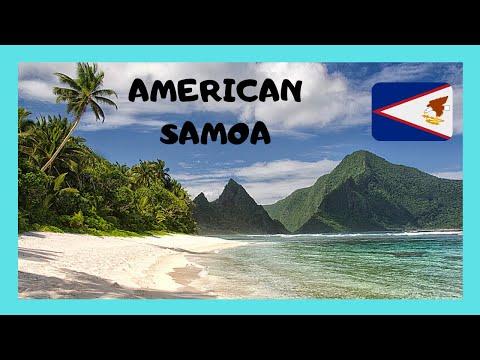 AMERICAN SAMOA, exploring the remote volcanic island of AUNU'U (PACIFIC OCEAN)