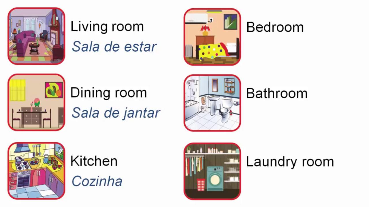 Suficiente Curso de inglês para crianças - Aula 15 - My house - YouTube XD87