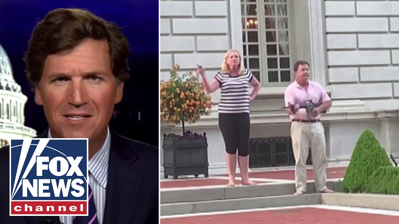 Mark McCloskey may face prison time after defending his home, joins Tucker