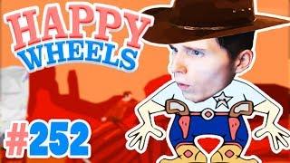 WILD WILD WEST: WIR SCHIEßEN UNS DEN WEG FREI! ✪ Happy Wheels #252