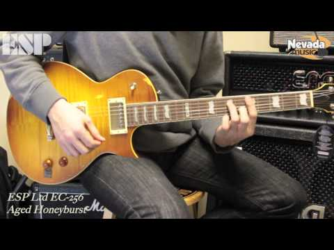 ESP Ltd EC-256 Guitar in Aged Honeyburst - Sam Bell @ PMT