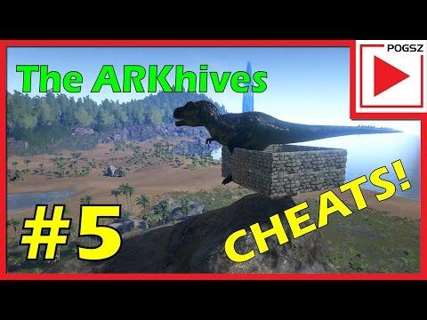 ARK: survival admin and cheat codes via console commands