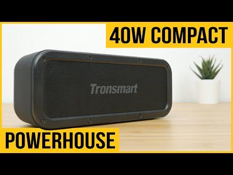 Tronsmart Force 40W review | Bluetooth speaker | vs JBL Flip, Soundcore Boost, Tribit MaxSound Plus