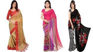 flipkart sarees with price//flipkart sarees below 500//flipkart saree and churidar discount sale