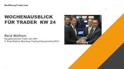 Wochenausblick für Trader KW 24