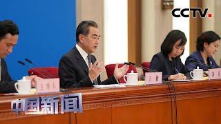 [中国新闻] 十三届全国人大三次会议举行记者会 王毅谈中央政府推进香港国家安全立法 | CCTV中文国际