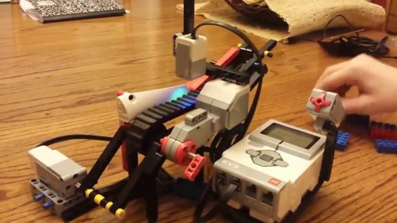 Lego Mindstorm EV3 block Sorter - YouTube