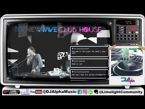 80s NewWave Club House -Virtual Party -  EuroDisco, ItaloDisco, New Wave, 80s!