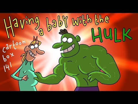 Having A Baby With The HULK | Cartoon Box 141 | By Frame Order | Funny Pregnant Cartoon