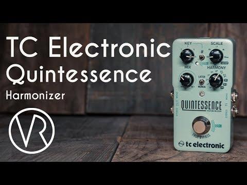 TC Electronic Quintessence Harmonizer Demo / VintageandRare.com