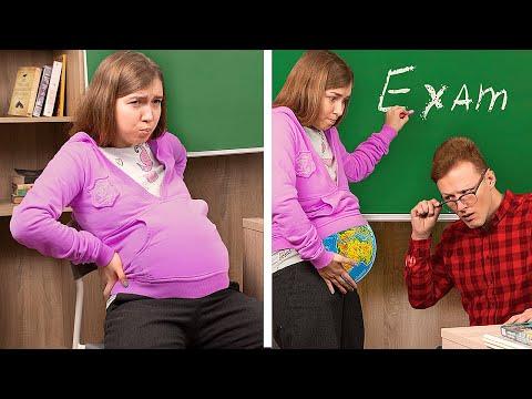 Типы студентов на экзамене