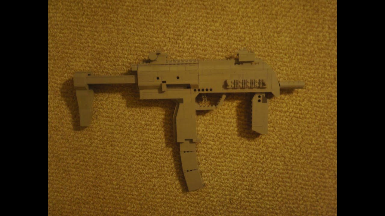 Lego MP7 | Made two of these little bad boys, one with the s… | Flickr