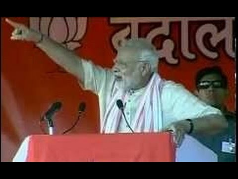 Live: Narendra Modi Speech in Begusarai, Bihar