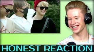 HONEST REACTION to BTS REACTION TO FANBOYS