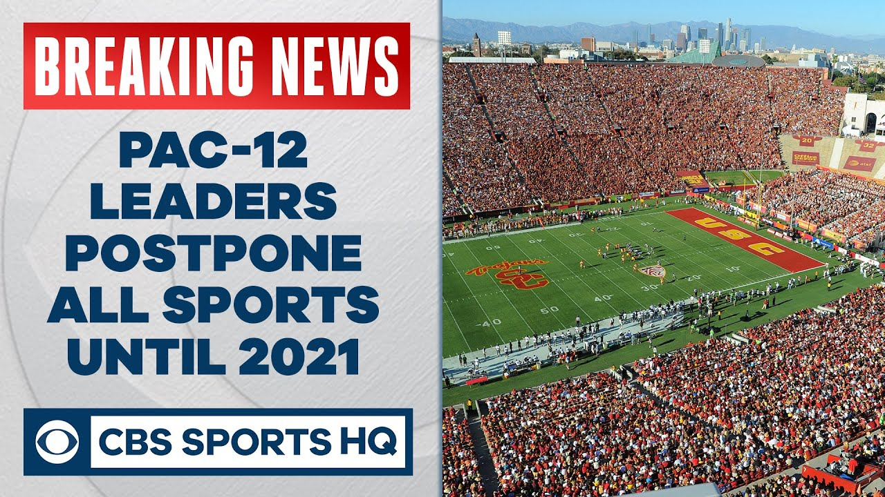 Pac-12 Conference Postpones All Sports Until January 1