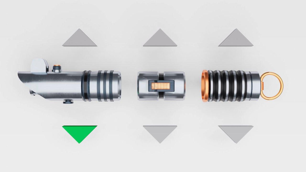 Baue dein eigenes Lichtschwert! (Interaktives Video) + Download