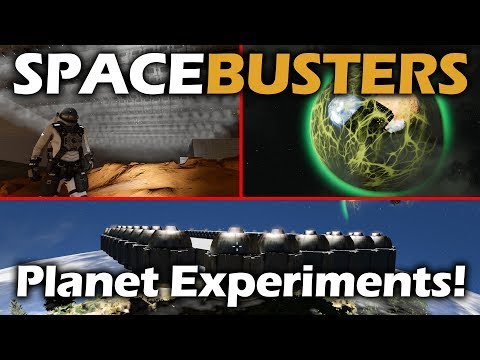 Space Busters | Breaking Space Engineers Planet Physics