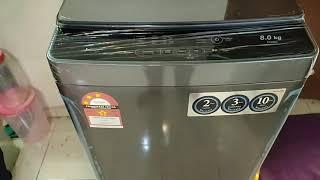Washing machine sharp esx-858