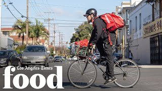 What's it like delivering food during a pandemic?