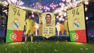 FIFA 18 RONALDO IN AN ELECTRUM PLAYERS PACK