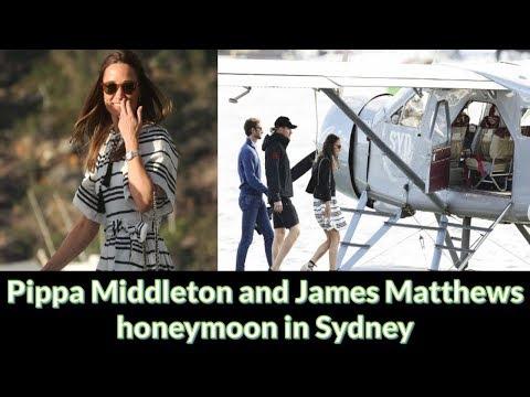 Pippa Middleton and James Matthews honeymoon in Sydney
