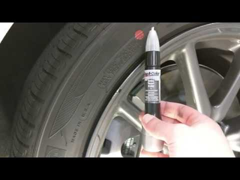 Model 3 Pinwheel Aero Inexpensive Touch Up Paint On Curb
