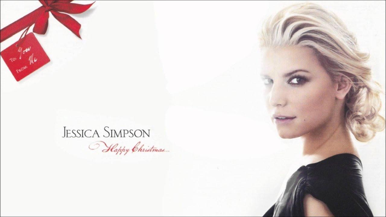 Jessica Simpson - I\'ll Be Home For Christmas + Lyrics - YouTube