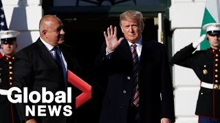 Trump welcomes Bulgaria's Prime Minister to White House
