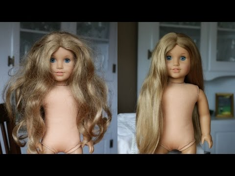 FIXING UP AN OLD AG DOLL -  ELIZABETH