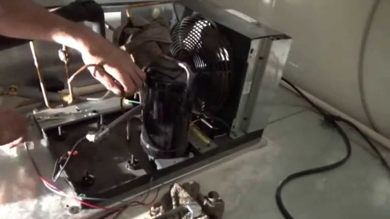 Compressor Change On Walk In Cooler Youtube