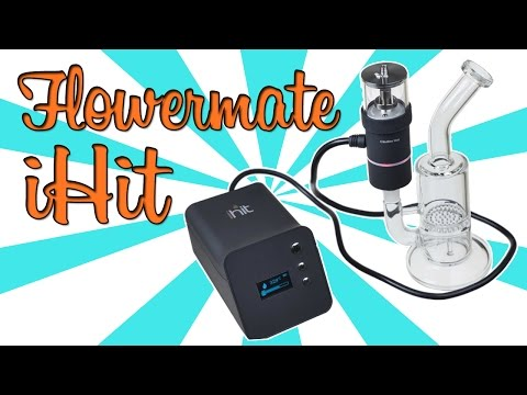 PORTABLE E-NAIL + HERB VAPORIZER! - (iHit Product Review)
