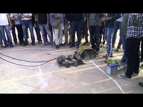 G.B. Pant Govt. Engineering college, New delhi,ROBOWAR INCEPTUM15