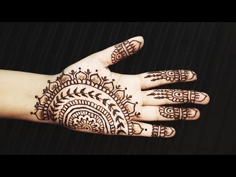 Simple Indian Henna