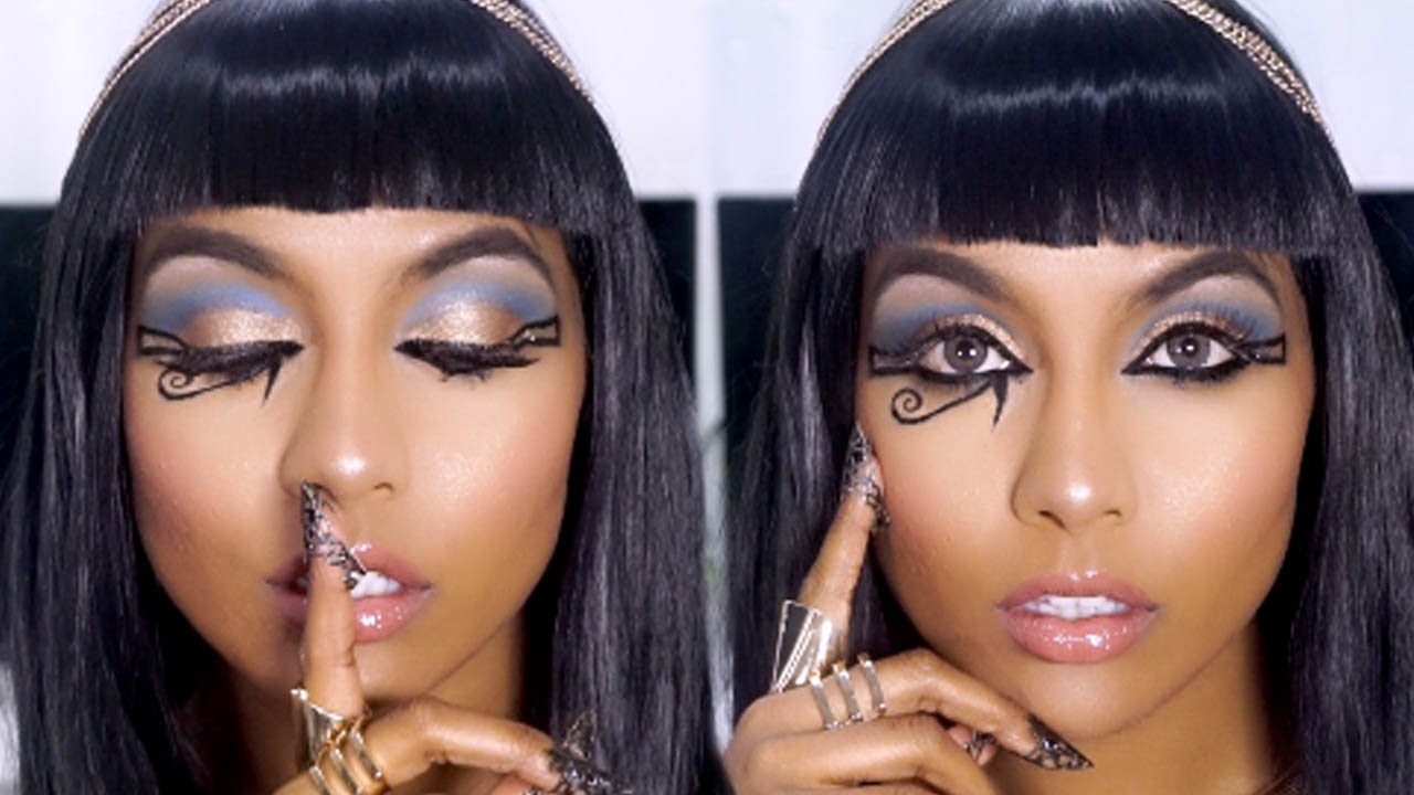 cleopatra makeup tutorial onvacations image