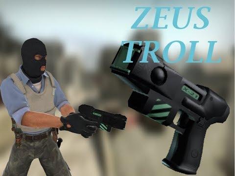 CS GO Zeus Troll