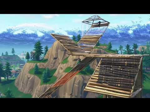 Build Battle 1v1 No Items, Haunted Hills, Gun Only