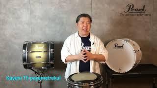 Teaching Drum By Pearl Artist (Ss.1 Ep.1) โดย อาจารย์เกษม ทิพยเมธากุล