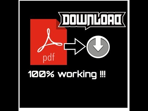 How to download pdf directly without opening it in browser |No external software required |