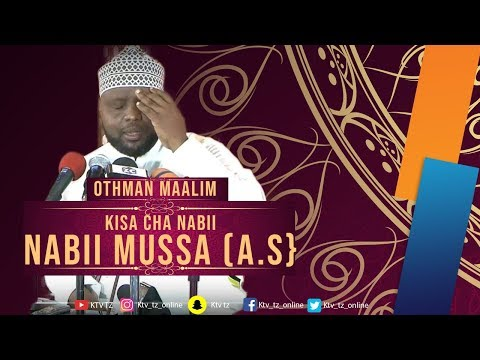 Download KISA CHA NABII MUSSA - SHEIKH OTHMAN MAALIM