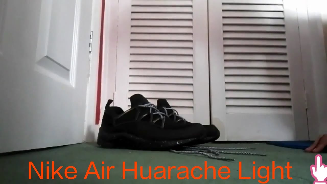 Nike Huarache Nere Bambino