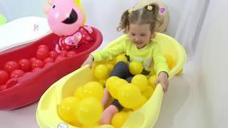 Милусик Ланусик и веселые цвета в ванной