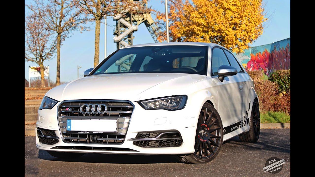 HP Audi S Stronic Wcustom Exhaust Revs Full Throttle - Audi custom