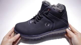 Обзор мужских зимних ботинок Ecco Lorandi