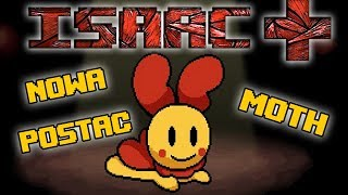 NOWA POSTAĆ - MOTH THE BINDING OF ISAAC AFTERBIRTH + MODS