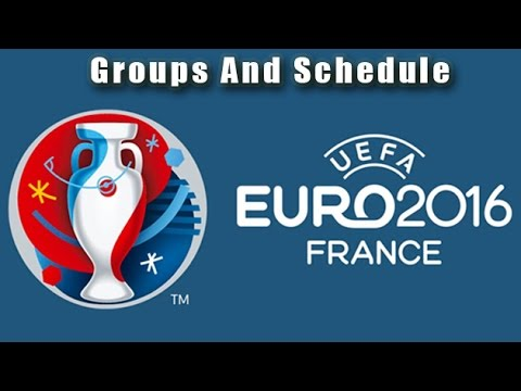 UEFA EURO 2016 Final Tournament Schedule | Groups And Teams Schedule | Football Critics