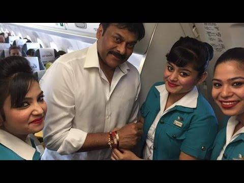 Chiranjeevi Real Behavior On Flight - Movie Gossips