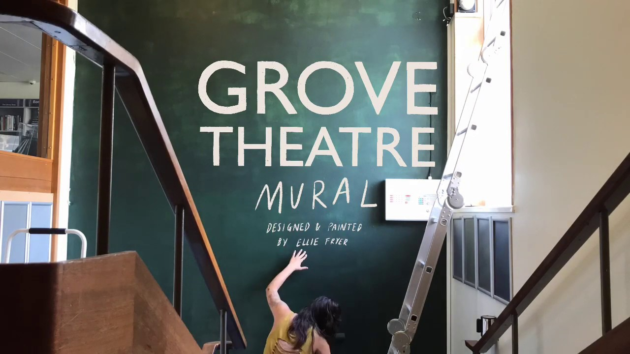 Unveiling the Grove Theatre Mural!